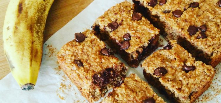 Gluten-free banana peanut butter cake