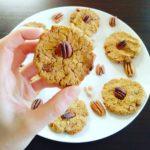 Pecan chickpea cookies
