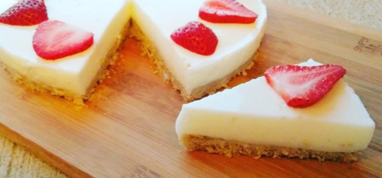 Super fresh gluten-free yogurt pie