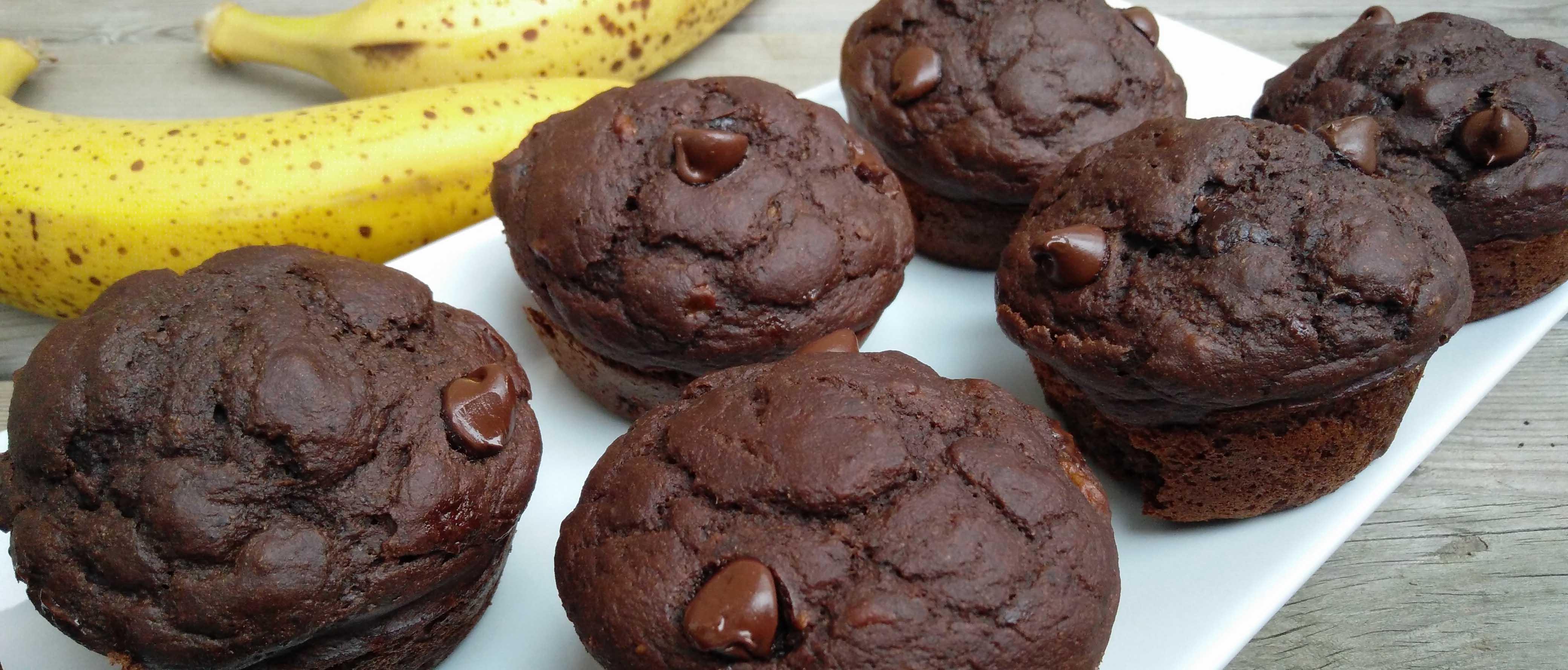 Chocolate loving muffins